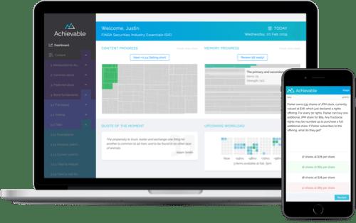 Desktop and mobile screenshots of